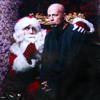 Bruce and Santa