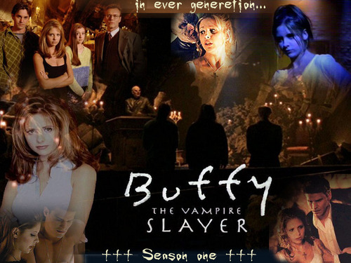 Buffy the Vampire Slayer achtergrond with a concert titled BtVS