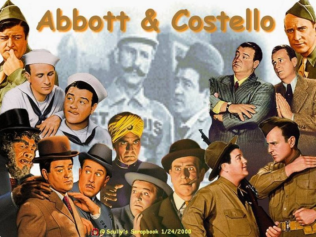Bud Abbott Wallpapers Bud Lou galore Abbott Costello Wallpaper Fanpop