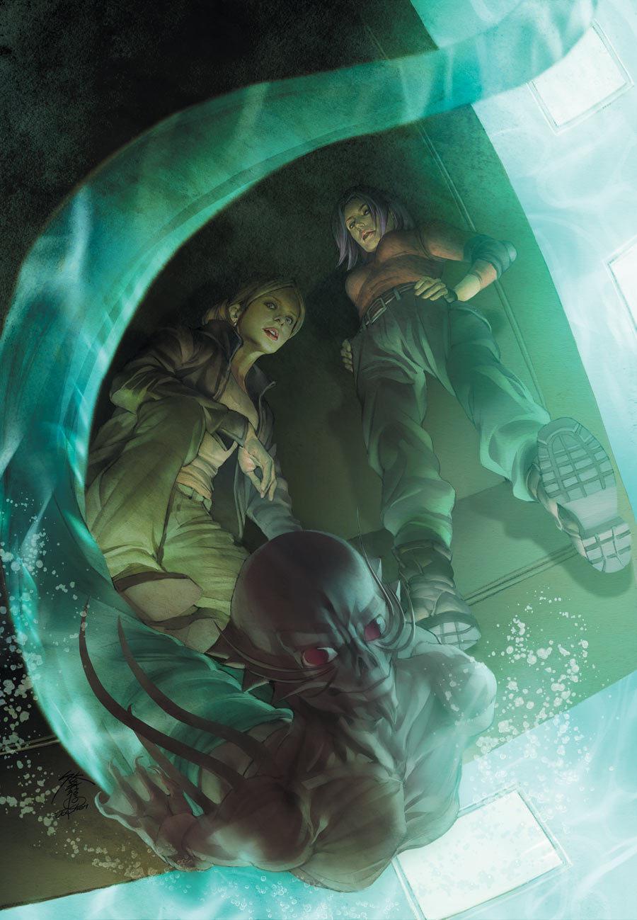 Buffy Comic Cover Art