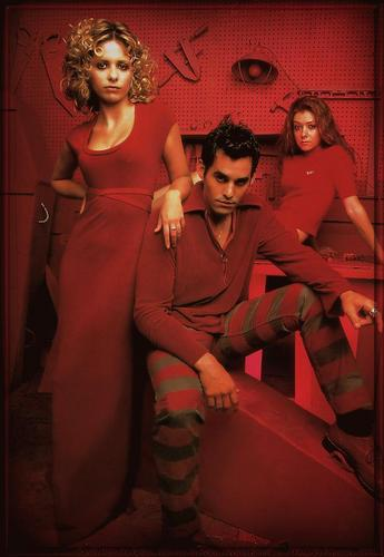 Buffy,Xander & Willow
