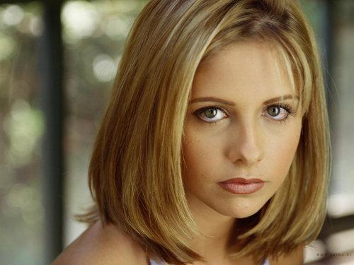 Buffy Summers karatasi la kupamba ukuta titled Buffy