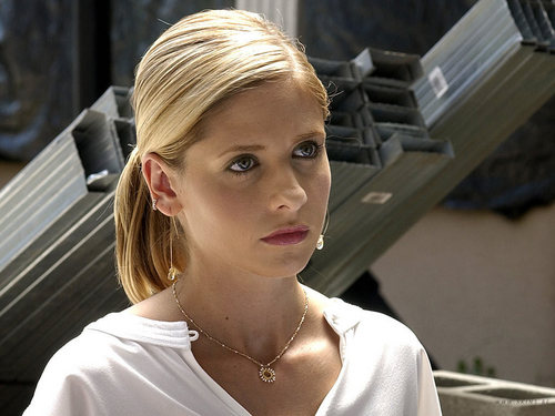 Buffy Summers karatasi la kupamba ukuta entitled Buffy