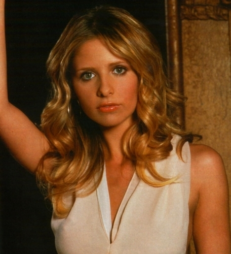 Buffy Summers wallpaper with a portrait titled Buffy