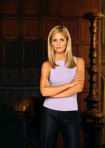 বাফি দ্যা ভ্যামপায়ার স্লেয়ার contre les ভ্যাম্পায়ার দেওয়ালপত্র titled Buffy