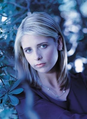 buffy, a caça-vampiros wallpaper with a portrait entitled Buffy