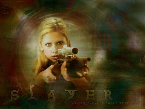 buffy, a caça-vampiros wallpaper called Buffy