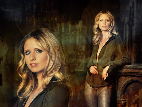 buffy, a caça-vampiros wallpaper entitled Buffy