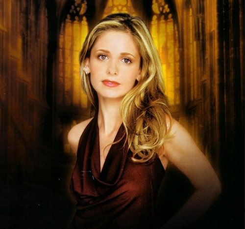 Buffy the Vampire Slayer karatasi la kupamba ukuta called Buffy (season 6)