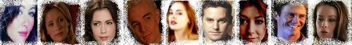 Buffy vs Charmed banner