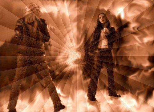 Buffy vs Faith - fight