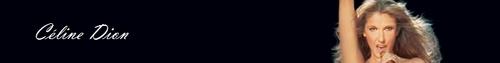 Céline Dion Banner