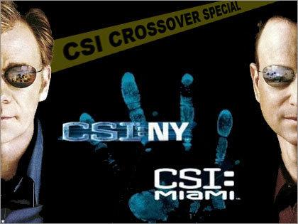 犯罪现场调查 Miami/NY crossover