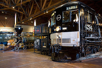 California State Railroad Museum Sacramento Photo
