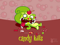 Candy Kills - happy-tree-friends wallpaper
