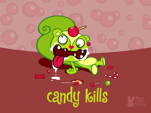 Happy Tree Friends wallpaper called Candy Kills