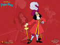 Captain Hook - peter-pan wallpaper