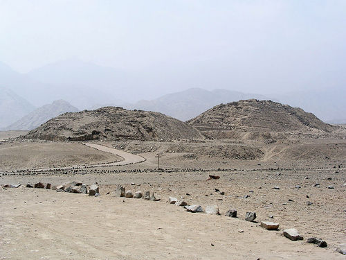 Ancient History wallpaper titled Caral pyramids in Perú