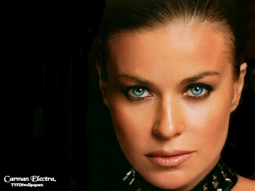 carmen electra wallpaper with a portrait titled Carmen Electra