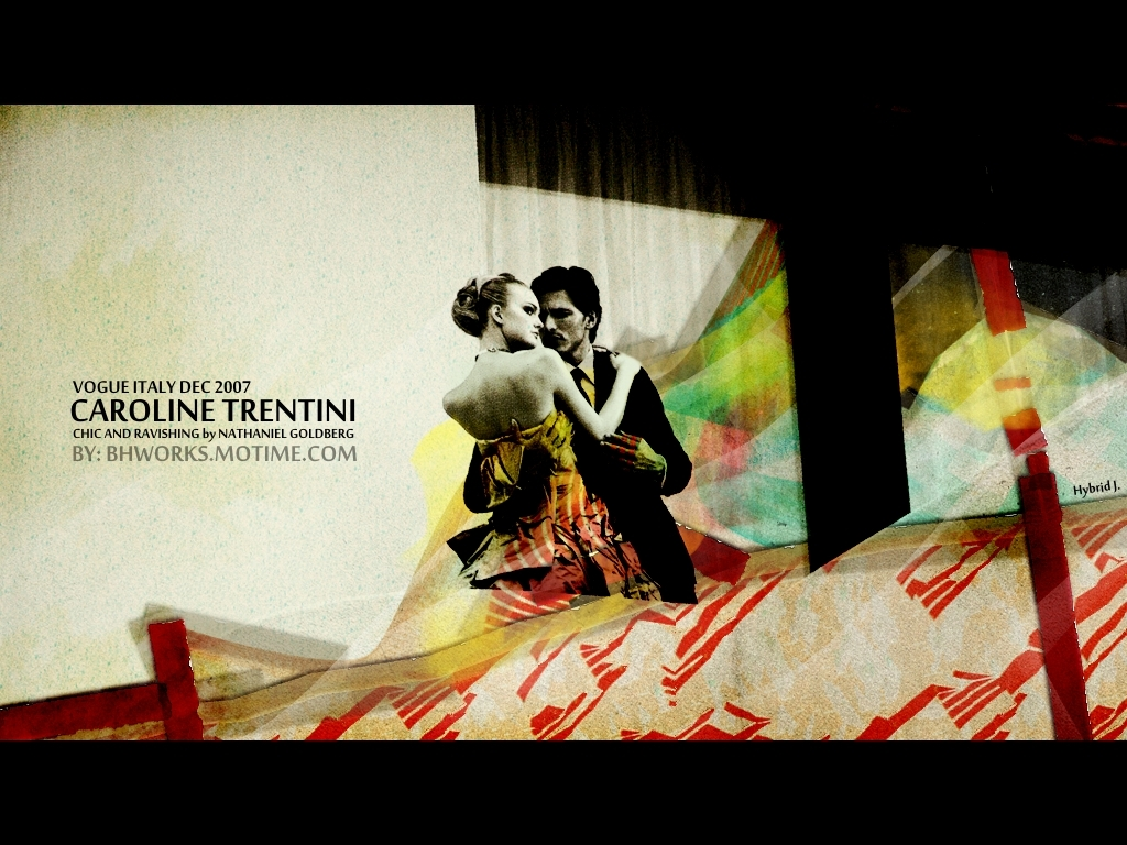 Caroline Trentini VOGUE ITALY