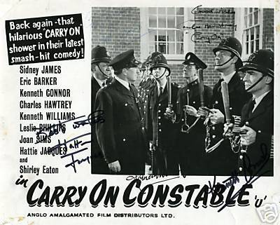 Carry On Movies wallpaper called Carry On Constable poster