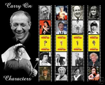 Carry On filmes Bookmarks