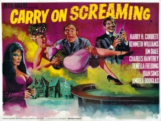 Carry On Movies wallpaper entitled Carrying On Screaming
