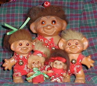 Cavemen Troll Dolls