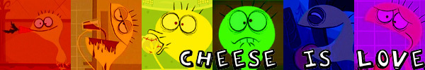 Cheese Is 爱情 Banner