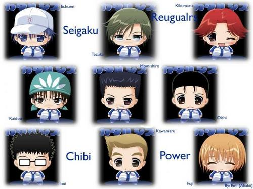 Chibi Seigaku - prince-of-tennis Photo
