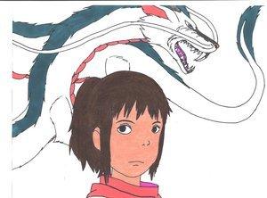 Chihiro and Haku