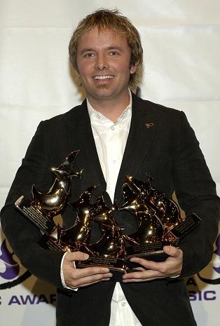 Chris at голубь Awards