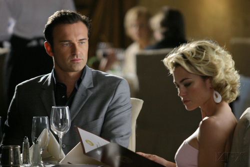 Nip/Tuck wallpaper probably containing a dinner table titled Chrisitan & Kimber