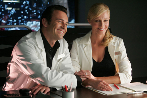 Nip/Tuck wallpaper entitled Christian & Julia