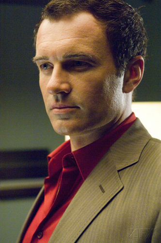 Nip/Tuck wallpaper with a business suit, a suit, and a gessato entitled Christian