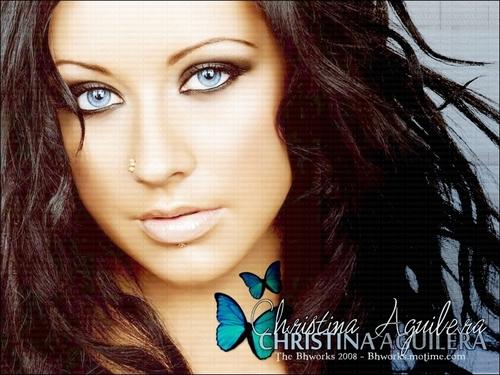 Christina AGuilera Bhworks