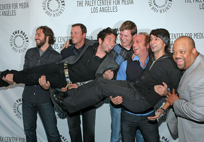 Chuck cast at PaleyFest