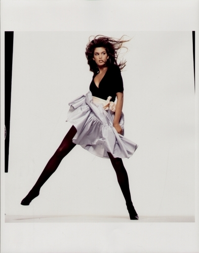 Vogue wallpaper titled Cindy Crawford