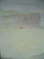 Cliffs and Cow - ireland fan art