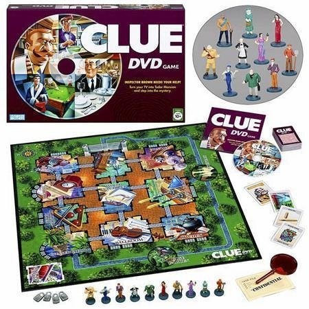 Board Games wallpaper titled Clue DVD Game