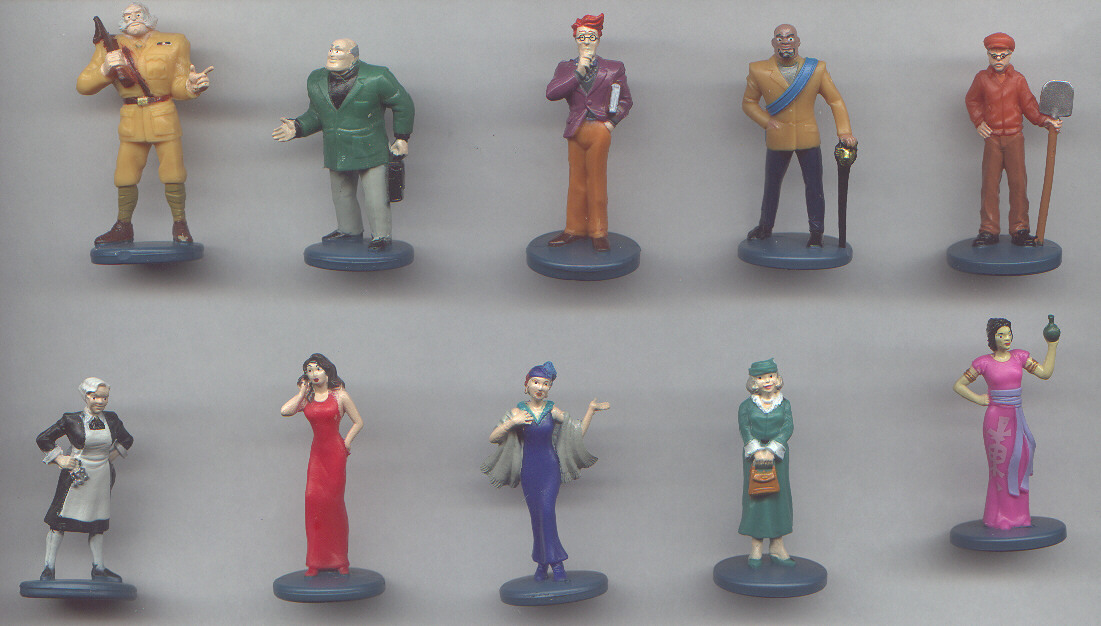 Clue DVD tokens
