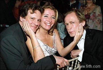 Emma Thompson wallpaper titled Colin, Emma and Bill Nighy