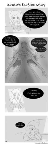 Comic: Rosalie's Bedtime Story