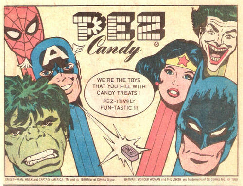 Comic book ad