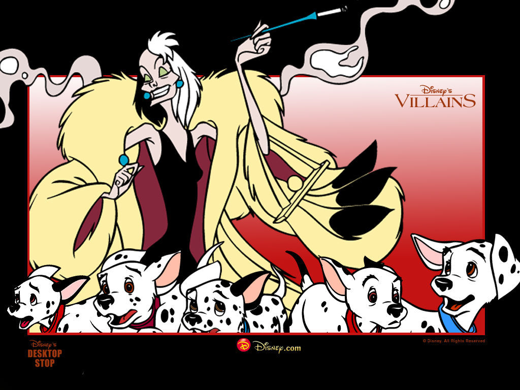 Cruella de Vil দেওয়ালপত্র