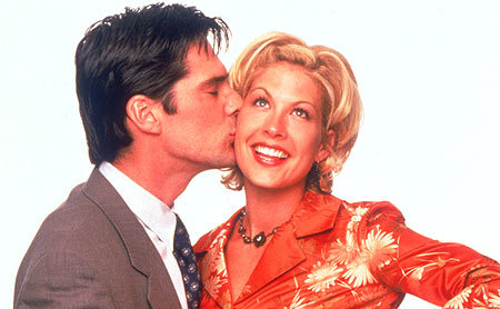 Dharma & Greg wallpaper possibly with a business suit and a portrait called D/G