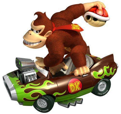 DK in Mario Kart Wii