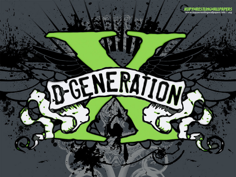 degeneration x triple h. (DX Logo - D-generatio)