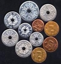Danish Crowns (danske kroner)