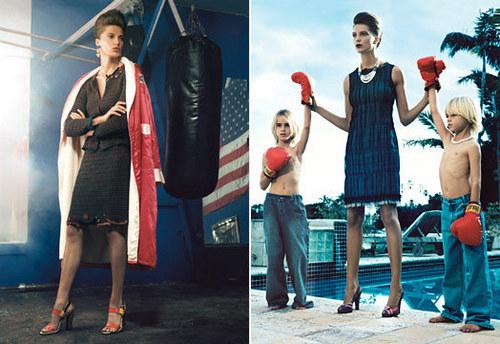 Vogue wallpaper entitled Daria Werbowy